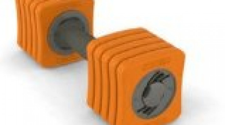 Sportbell Micro 6lb Weight Set – Orange